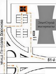Схема проезда по территории ТЦ